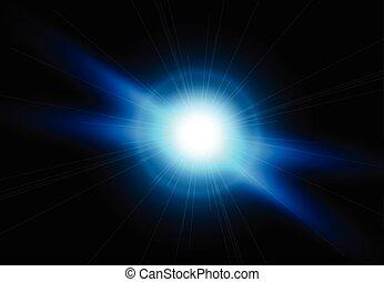 flash., flares., 明るい, 照明, レンズ, 美しい, 効果
