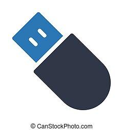flash  glyph color icon