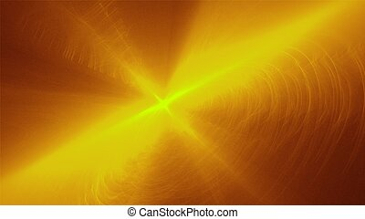 flash in golden background - abstract immagine in golden...