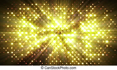 flash lights disco wall loopable background