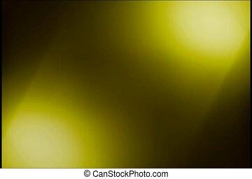 flash, lumière, jaune
