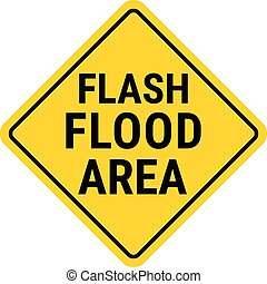 flash, montre, signe, inondation, avertissement, warning.