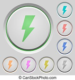 Flash push buttons