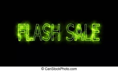 flash sale green electric mark glow end offset