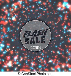 Flash Sale Poster Template. Flash Sale Banner
