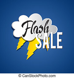 Flash Sale vector illustration