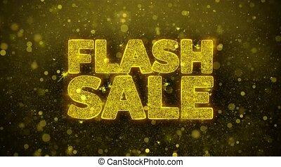 Flash Sale Wishes Greetings card, Invitation, Celebration...