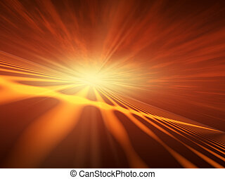 Flash Star Red Horizon