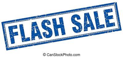 flash, timbre, vente, carrée