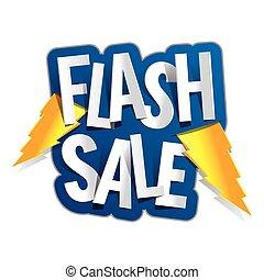 flash, venda