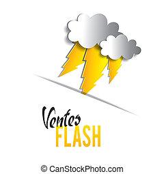 flash, vendas