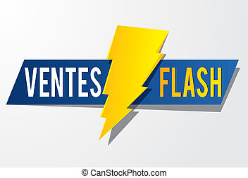 flash, vente