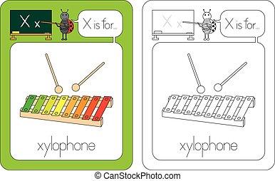 flashcard, 手紙 x
