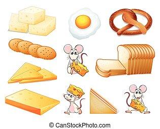 Flashcard of yellow theme