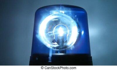 flasher, 은 자전한다, 빠르게, 에서, 암흑, 와..., 은 조명한다, 벽, 남아서, 그것, 와,...