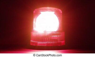 flasher, hd, -, rouges, urgence
