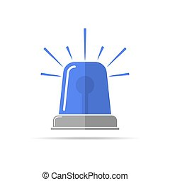 Flasher icon. Vector illustration