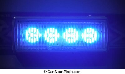 Flashing Beacon - a flashing beacon from a german police car...