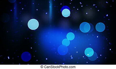 flashing blue circles lights and stripes loop