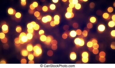 flashing christmas lights bokeh