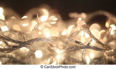 flashing christmas lights loop