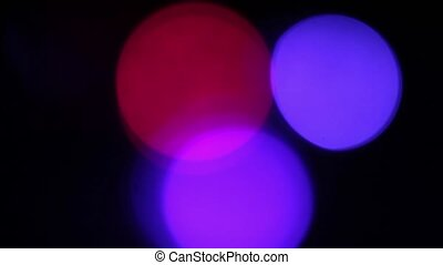 Flashing colored lights. Holiday and Party, Abstract Design...