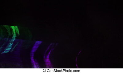 flashing disco dance lights virtual stage for music videos and live performances