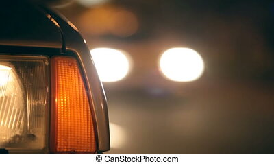 Flashing Hazard Lights On Car