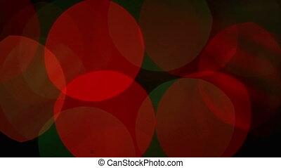 Flashing lights background