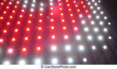 Flashing Lights Spotlight Bulb Flood lights Led Wall Stage...