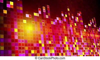 flashing squares equalizer loop - flashing squares equalizer...