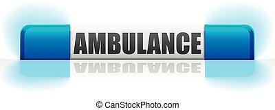 flashinglight ambulance