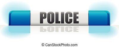 flashinglight police