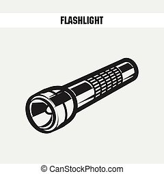 flashlight cartoon  icon