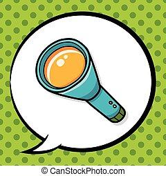flashlight doodle