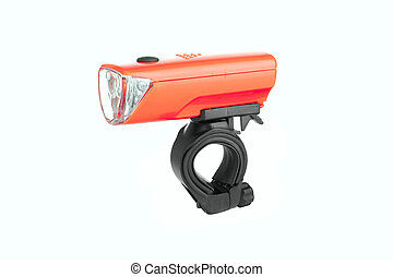 flashlight for Bicycle isolated