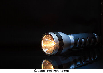 Flashlight In Dark