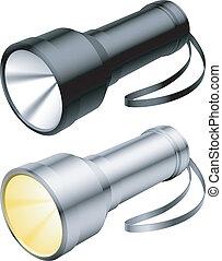 Flashlight.
