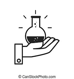flask bottle chemical
