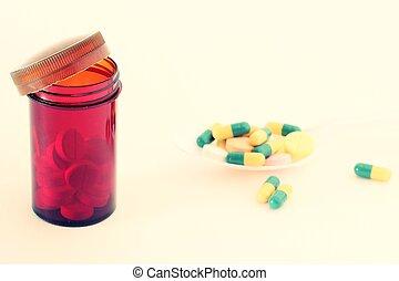 flaske p-piller