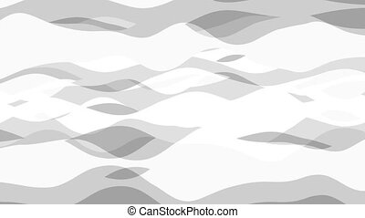 flat animation with stripe wave, seamless loop