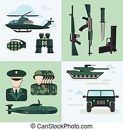 Flat Army Compositions