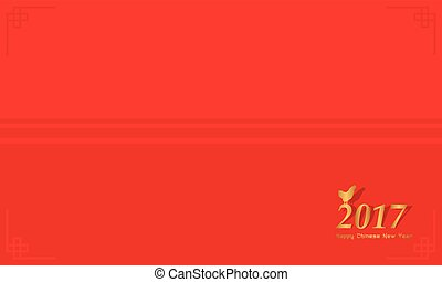 flat background chinese new year theme