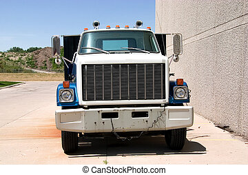 Flat Bed Truck Front