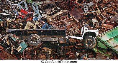 Flat Bed Truck Scrap