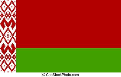 flat belarus flag