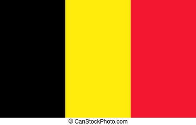 flat belgian flag