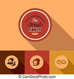 flat bread design elements
