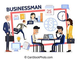 Flat Business Composition