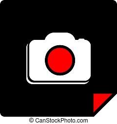 flat cam symbol design - Creative design of flat cam symbol